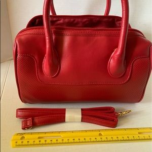 Avon Red Purse with shoulder strap NEW